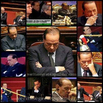 berlusconi dorme collage
